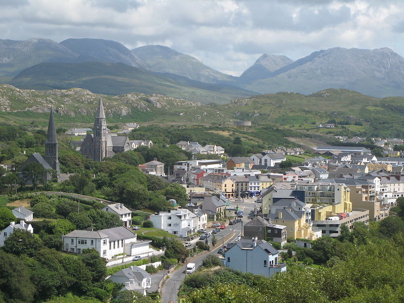Clifden, along the Wild Atlantic Way.